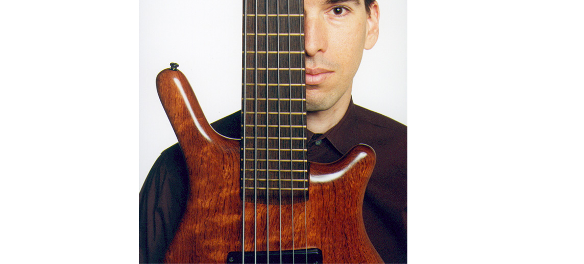 Jonathan Dimond 6-string bass guitar